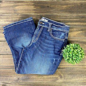 BKE Drew Stretchy Cropped Denim Jeans Sz. 28